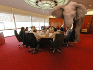 For investors, the elephant in the room is of course the bond market.