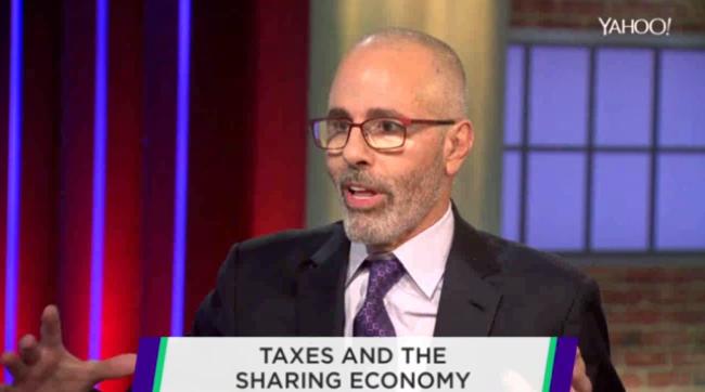 David Taxes Sharing Economy