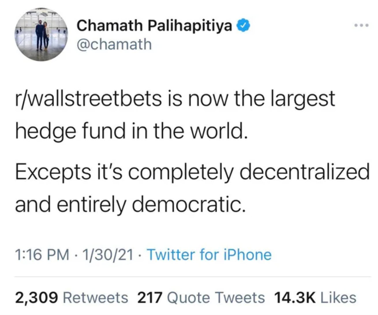 chamath tweet